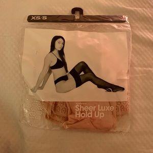 American Apparel thigh-high stockings